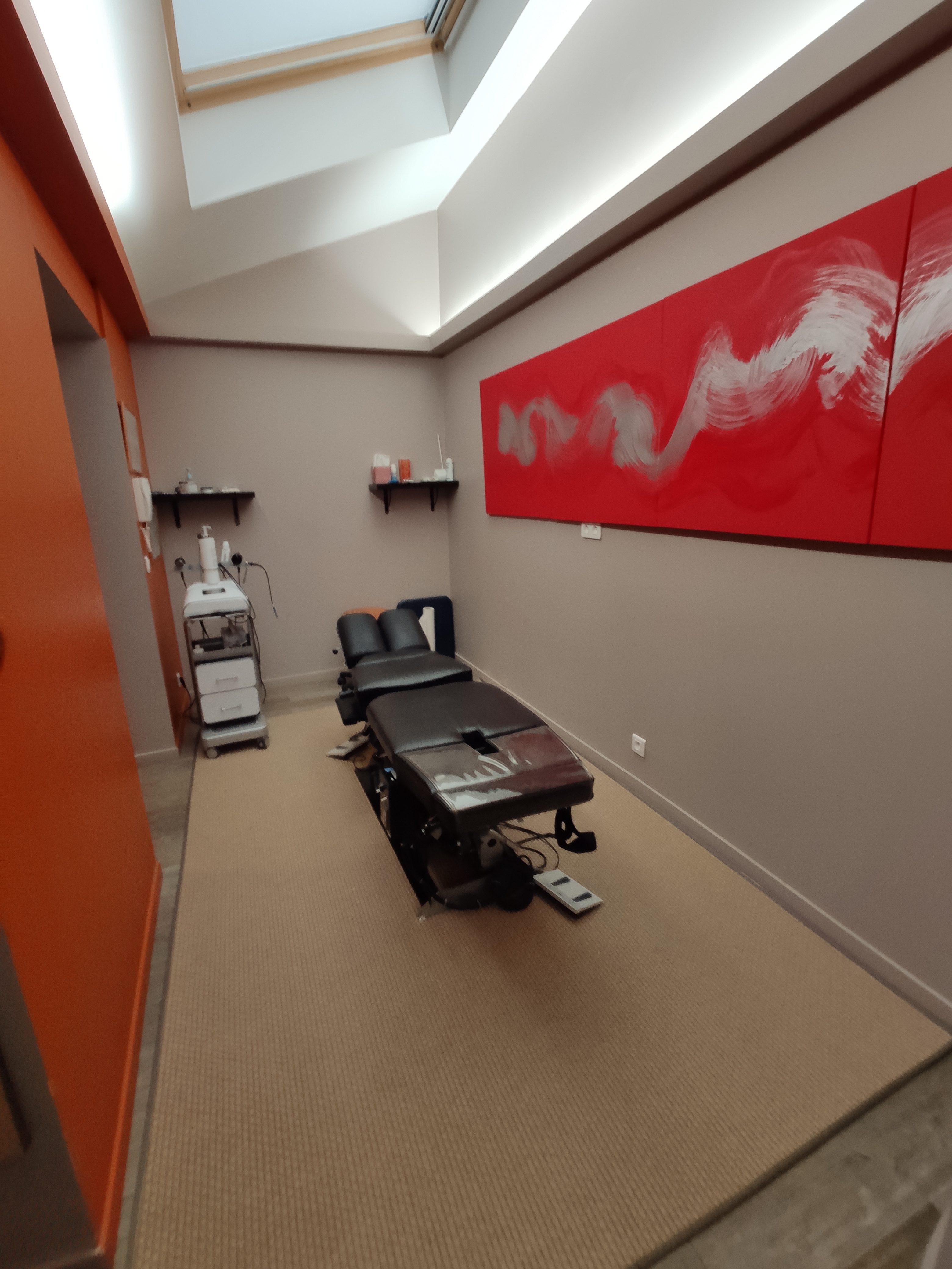 Salle de traitement